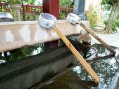 Japanese Shrine Temizu — Stock Photo