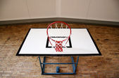 Basketball Hoop from Below — Stock Photo