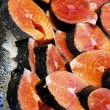 Raw Salmon Steaks — Stock Photo #29194721