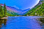 HDR of Mills Lake Colorado — Stock Photo