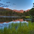Spraque Lake Colorado - Sunrise — Foto de Stock