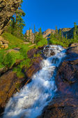 Tyndal Creek Cascade at Sunrise — Stock Photo