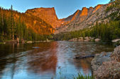Dream Lake at Sunrise — Stock Photo