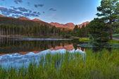 Spraque Lake Colorado - Sunrise — Stock Photo