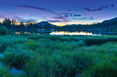 Spraque Lake Colorado - Sunrise — Stock Photo