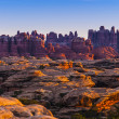 Sunrise in Needles District — Stock Photo