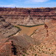 Colorado River and Green River confluence — Stock Photo