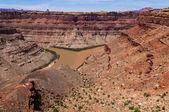 Colorado River and Green River confluence — Stock Photo