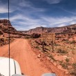 Stock Photo: Canyonlands Off road entrance