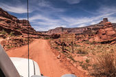 Canyonlands Off road entrance — Stock Photo