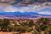 La Salle Mountains — Stock Photo