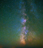 Starry Sky and a Milky Way Nebula — Stock Photo
