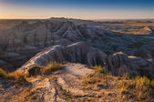 Badlands South Dakota at Sunrise — Stock Photo