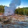 Stock Photo: Steamboat Geyser