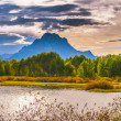 Beautiful Sunset at Grant Tetons — Stock Photo #33298859