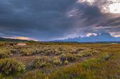 Cunningham Cabin Grand Teton — Stock Photo