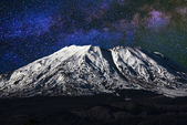 Monte st. helens di notte — Foto Stock