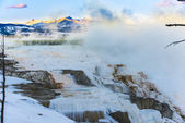 Yellowstone Winter Landscape — Stockfoto