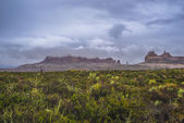 Rainstorm in the Arches National Park — Stock Photo