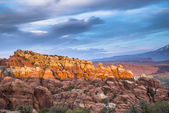 Fiery Furnace Overlook Arches National Park — Stock Photo