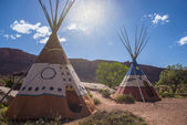 Indian Tipi Teepee — Stock Photo