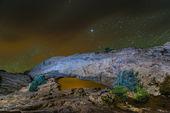 Mesa Arch at Night — Stock Photo