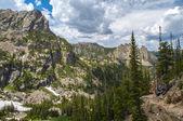Colorado paisaje knobtop, gabletop y pequeño matterhorn — Foto de Stock