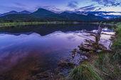 Lilly Lake at Sunset - Colorado — Stock Photo