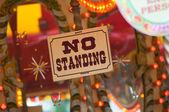 Fair ground ride - no-standing — Stock Photo