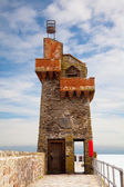 Rhenish Tower in Lynmouth Harbour Devon UK — Stock Photo