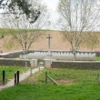 Stock Photo: Railway Hollow Cemetery France