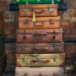 Old style suitcases ready for loading — Stock Photo #27496963