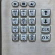 Close up of a payphone keypad. — Stock Photo