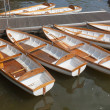 Leisure rowing boats for hire at Stratford-upon-Avon — Stock Photo
