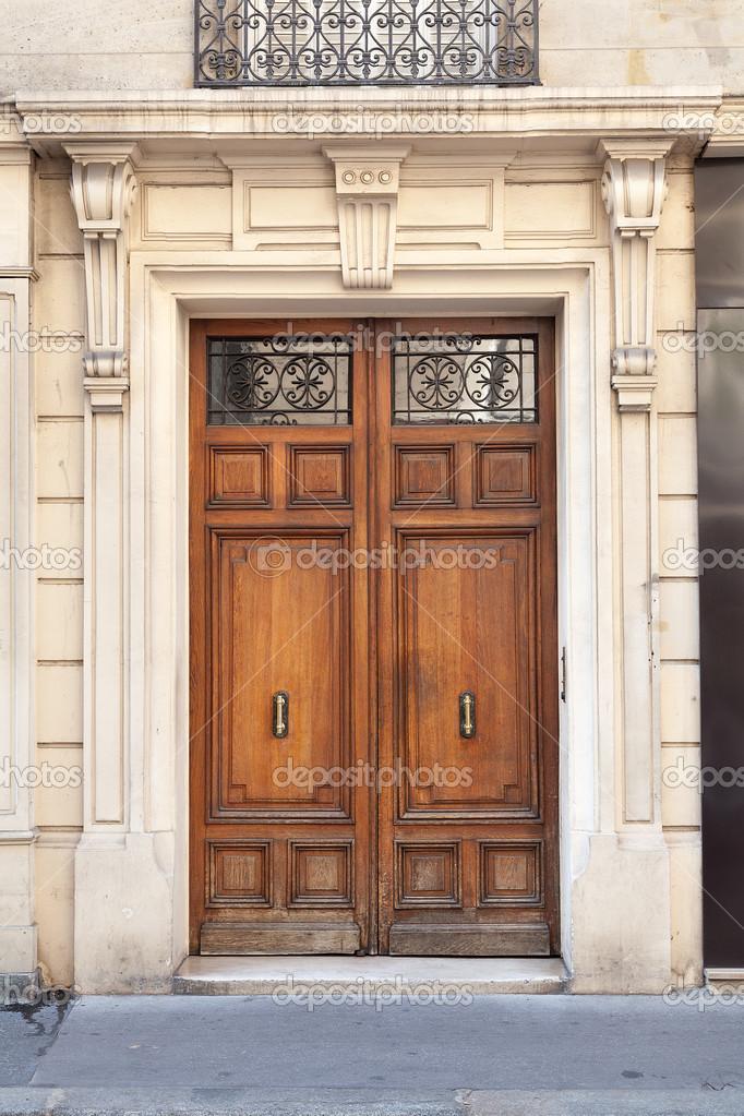 оформление двойной входной двери