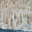Basalt rock columns at ReynisfjarIceland — Stock Photo #31517529