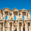 Facade Celsius Library in Ephesus, Turkey — Stock fotografie