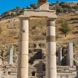 Stock Photo: Ephesus, Turkey remains of Prytaneum temple