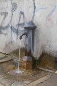 Drinking fountain in Vencie Italy — Stock Photo