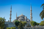 Blue Mosque on Istanbul Turkey — Stock Photo