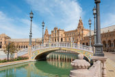Seville Spain Plaza de Espana — Stockfoto