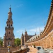 Seville Spain Plaza de Espana — Stock Photo
