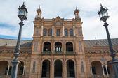 Sewilla hiszpania plaza de espana — Zdjęcie stockowe
