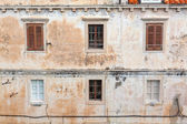 Dubrovnik building with signs of weathering — Stock Photo