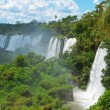 Iguassu waterfalls bordering ArgentinBrazil — Stock Photo #39626297