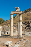 Ephesus, Turkey remains of the Prytaneum temple — Stock Photo