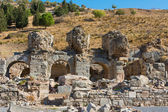 Ephesus ancient greek ruins in Anatolia Turkey — Stock Photo