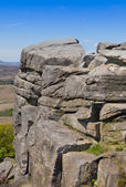 Stanage Edge Derbyshire England — Stock fotografie