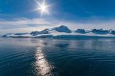 Paradise Bay Antarctica — Stock Photo
