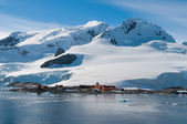 Chilean base Antarctica — Foto Stock